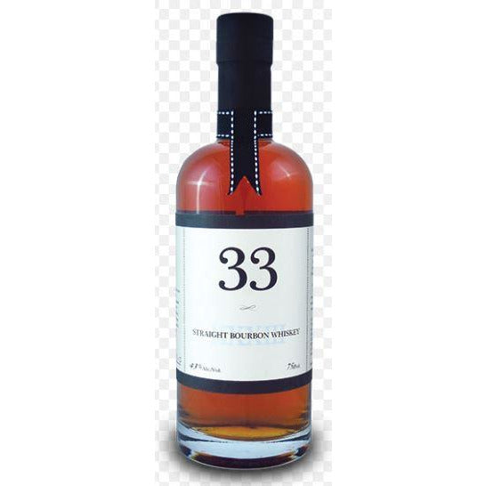 33 Straight Bourbon Whiskey 750 ml