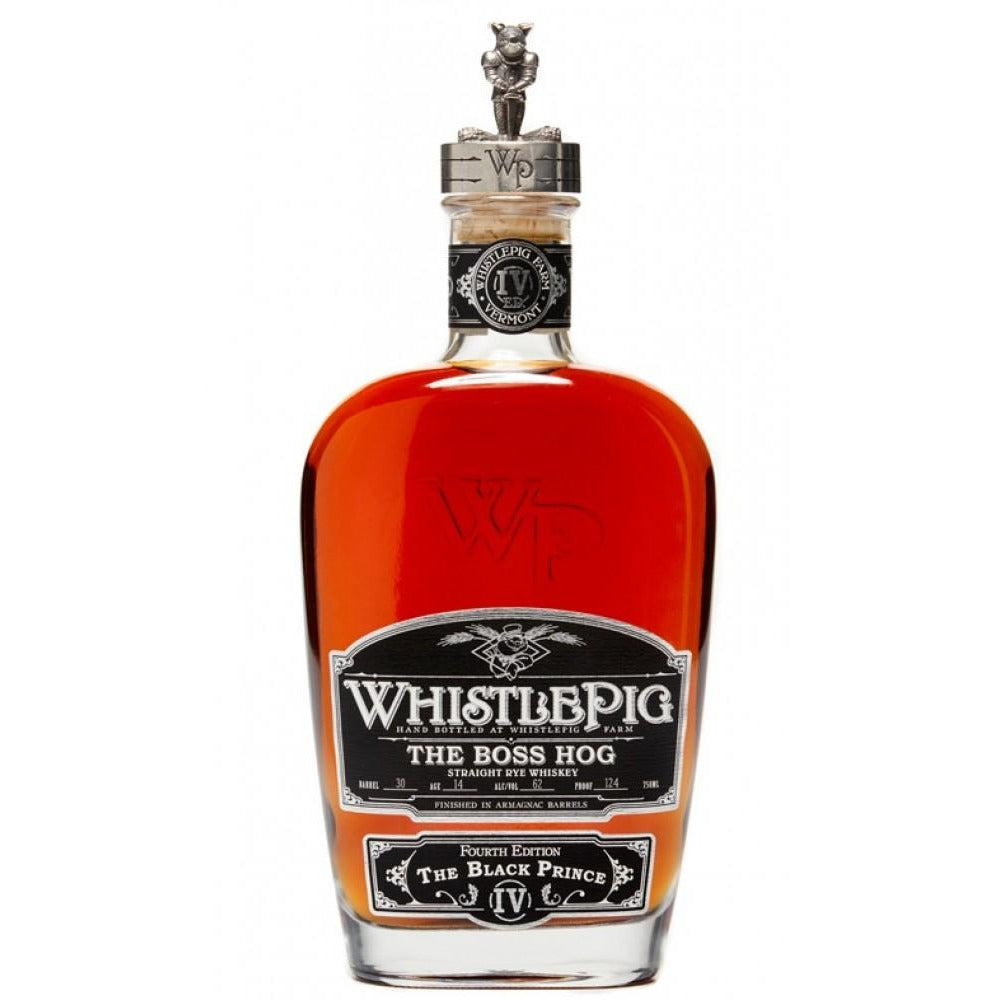 Whistlepig The Boss Hog The fourth Edition The Black Prince 750 ML