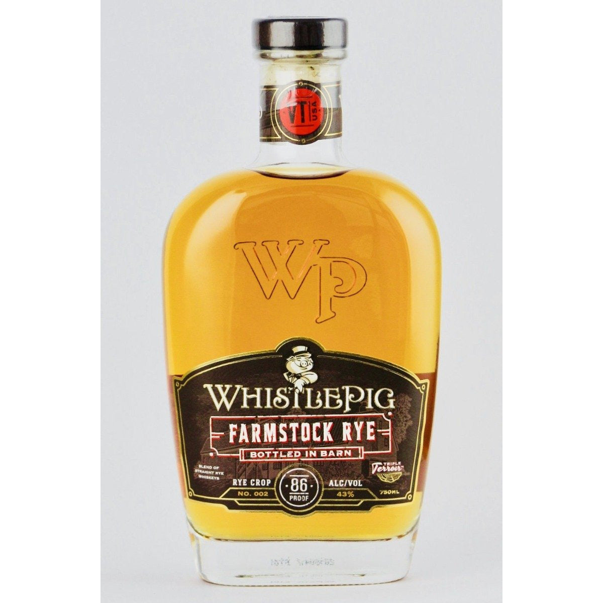 Whistlepig Farmstock Rye 750 ML