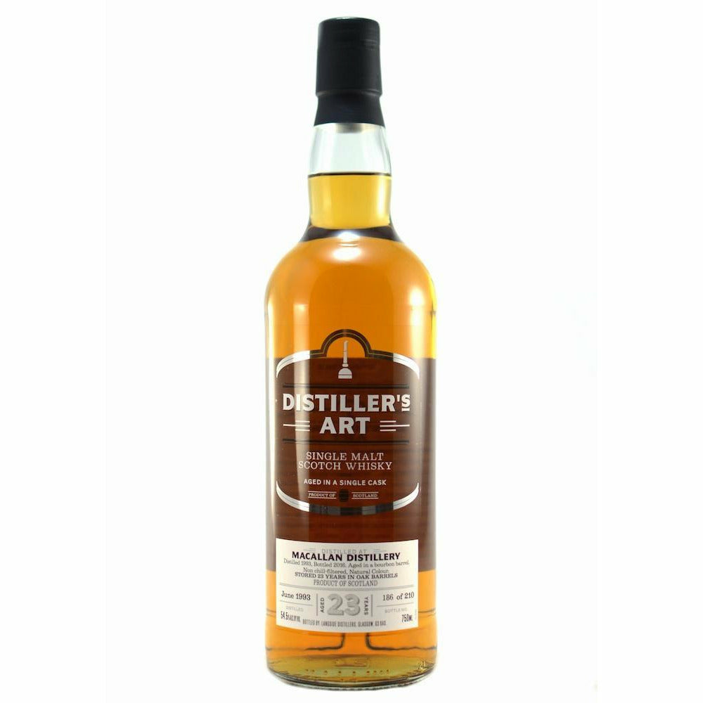 Distillers Art 23 Year Macallan Distillery 750 ml