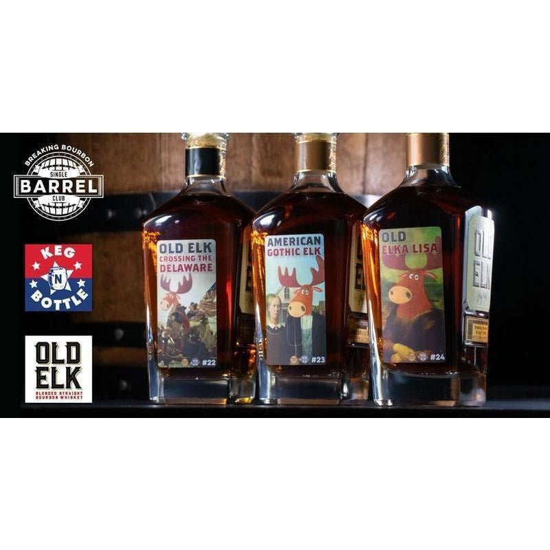 Old Elk Breaking Bourbon 3 Pack Bundle