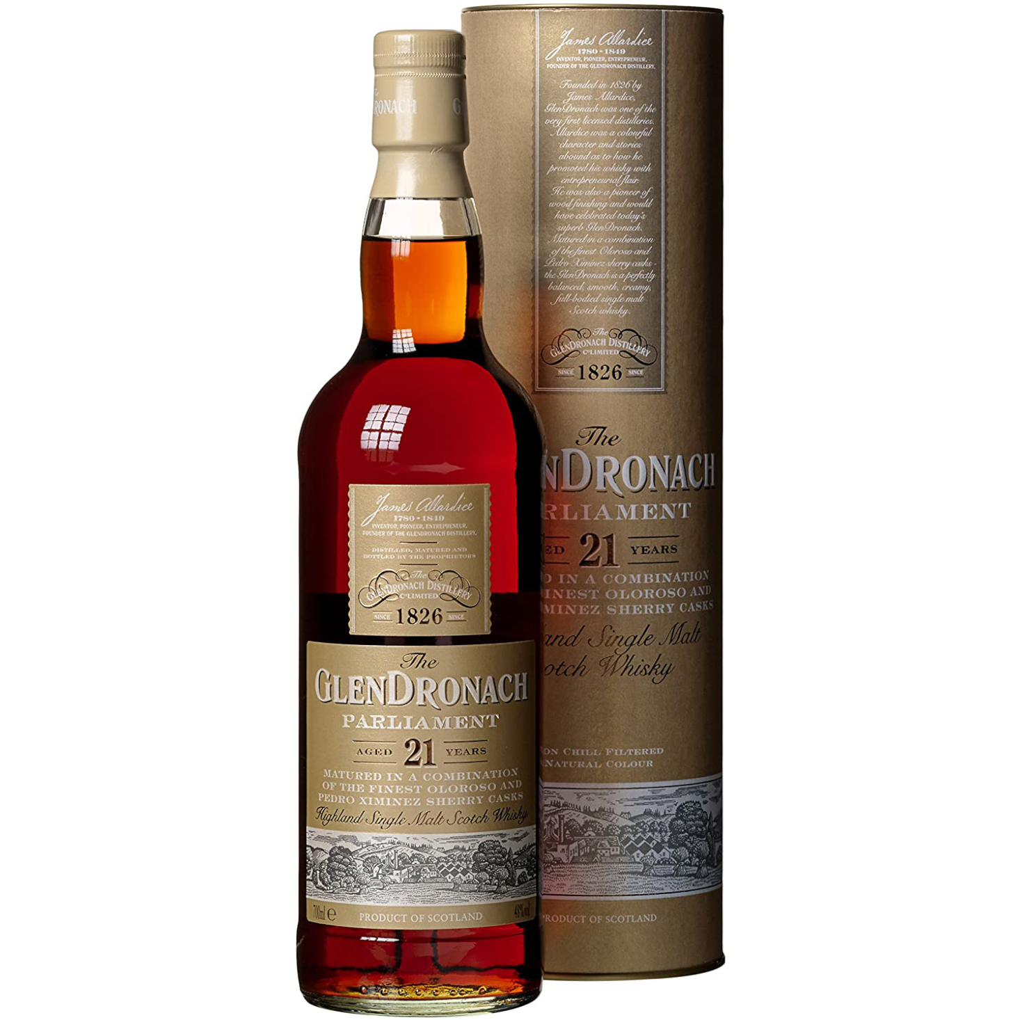 The Glendronach Parliament 21 Year (750mL)