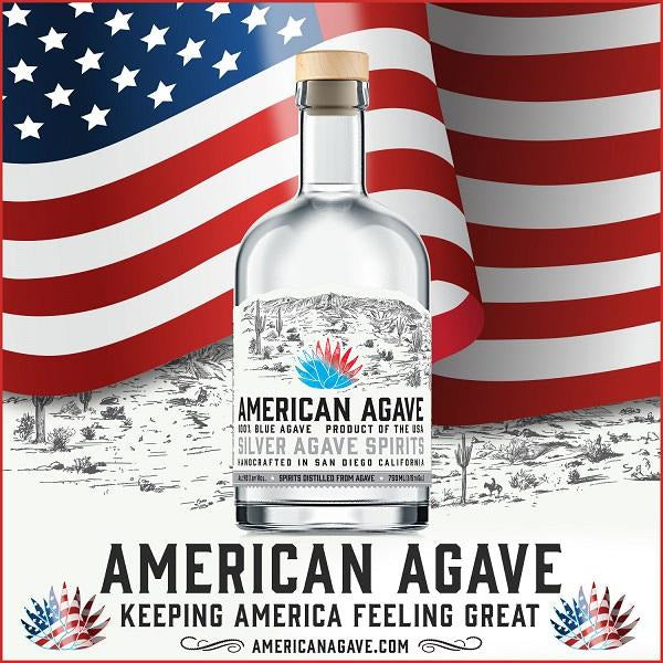 American Agave Silver 750 ml