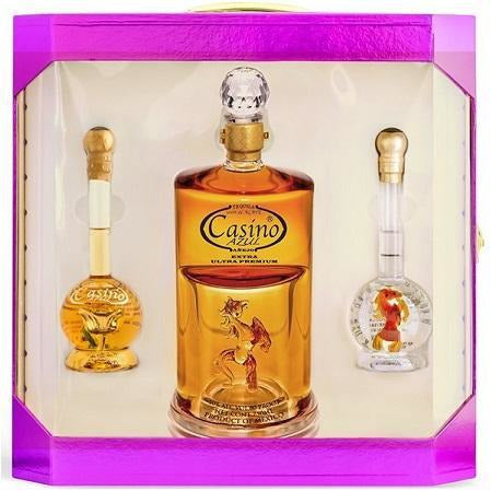 Tequila Casino Azul Collection 750ml/2-100ml