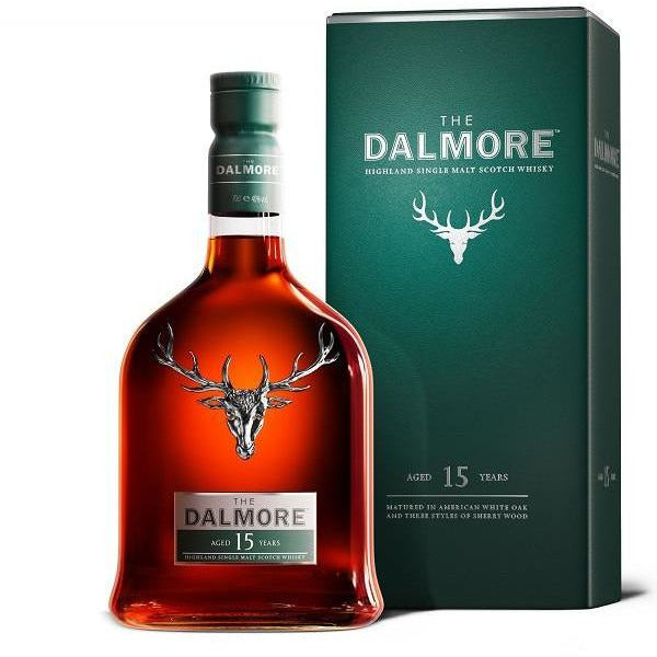The Dalmore 15 Year Old Single Malt Scotch Whisky 750 ML