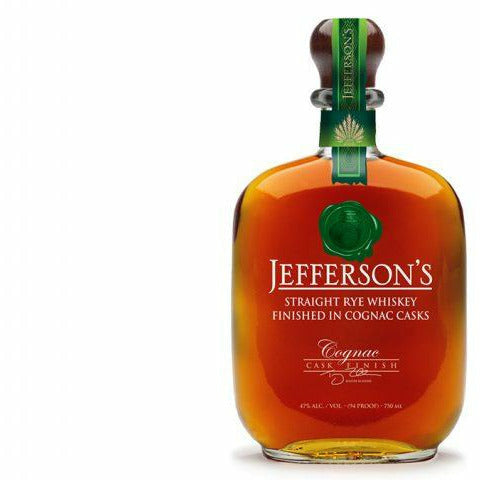 Jefferson's Straight Rye Whiskey Finished In Cognac Casks 750 ML