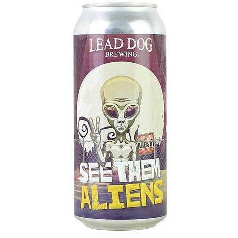 Lead Dog See Them Aliens Hazy IPA
