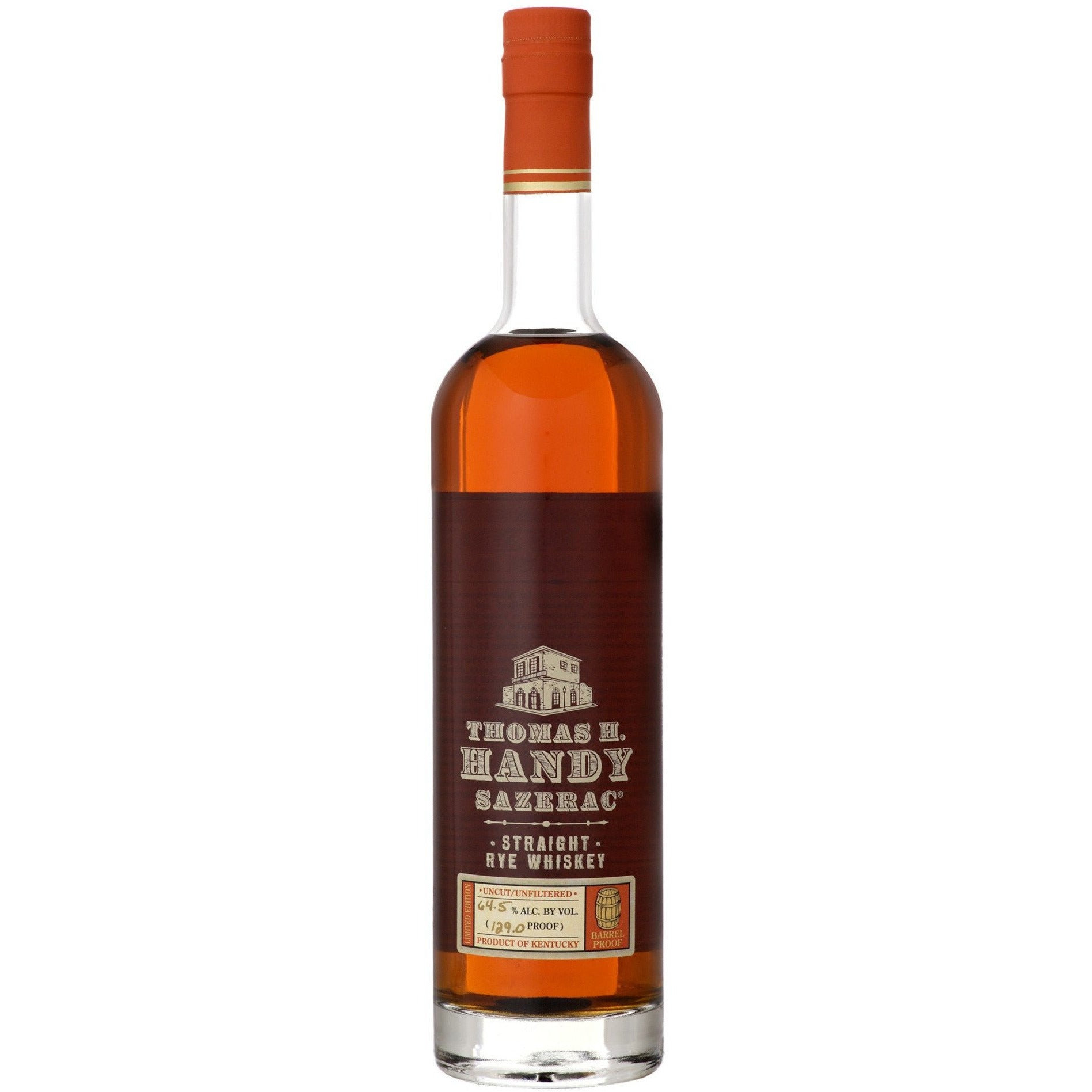 Thomas H. Handy Sazerac Straight Rye Whiskey (750 ML)