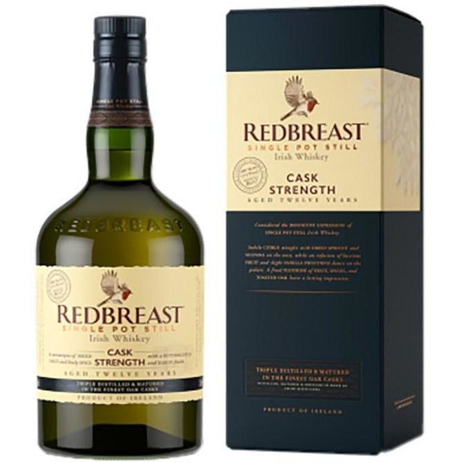 Redbreast 12 Year Old Cask Strength Irish Whiskey (750 mL)