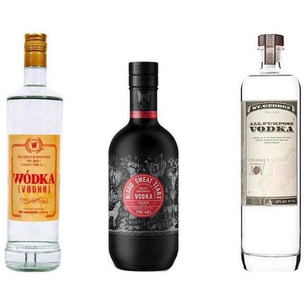 Shaker & Spoon Bundle - Wodka, Blood Sweat Tears, & St, George