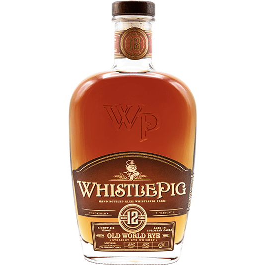 "Whistle Pig 12 Year Rye - Finished Custom Bespoke Blend - Breaking Bourbon Private Barrel Pick - ""Drink for Evil"" 750 ml"