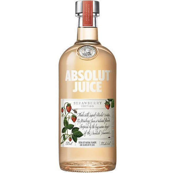 Absolut Juice Vodka Strawberry Edition 750 mL