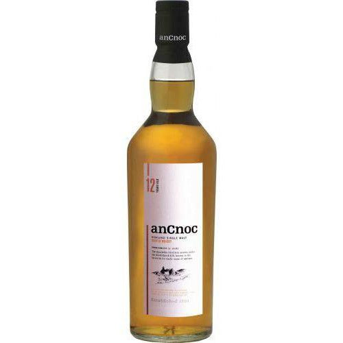 12 Years Old Ancnoc Highland Single Malt Whiskey 750 ML