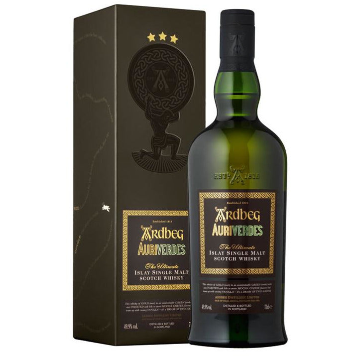 Ardbeg Auriverdes Single Malt Whiskey 750 Ml