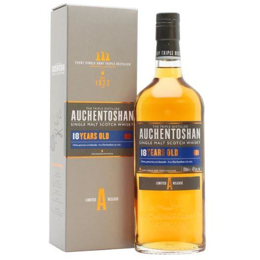Auchentoshan 18 Single Malt Scotch Whiskey 750 ML