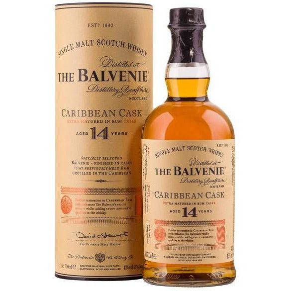The Balvenie 14 Year Caribbean Cask (750 ML)