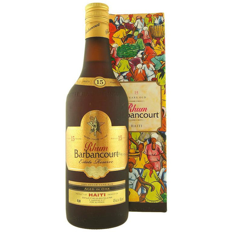 Barbancourt Estate Reserve 15 Year Aged Haitian Rum 750 mL