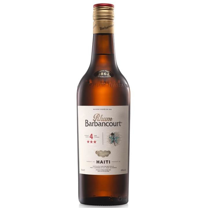 Barbancourt 3 Star 4 Year Haitian Rum 750 mL
