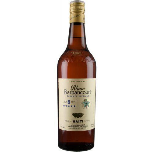 Barbancourt Reserve Speciale 5 Star 8 Year Aged Haitian Rum 750 mL