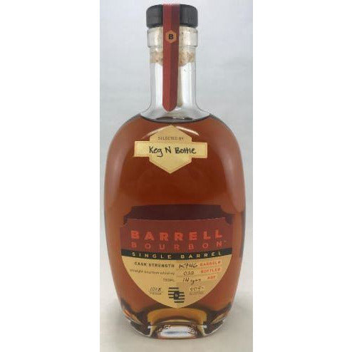 Barrell Bourbon Keg N Bottle Barrel Pick Very Limited 750 ML