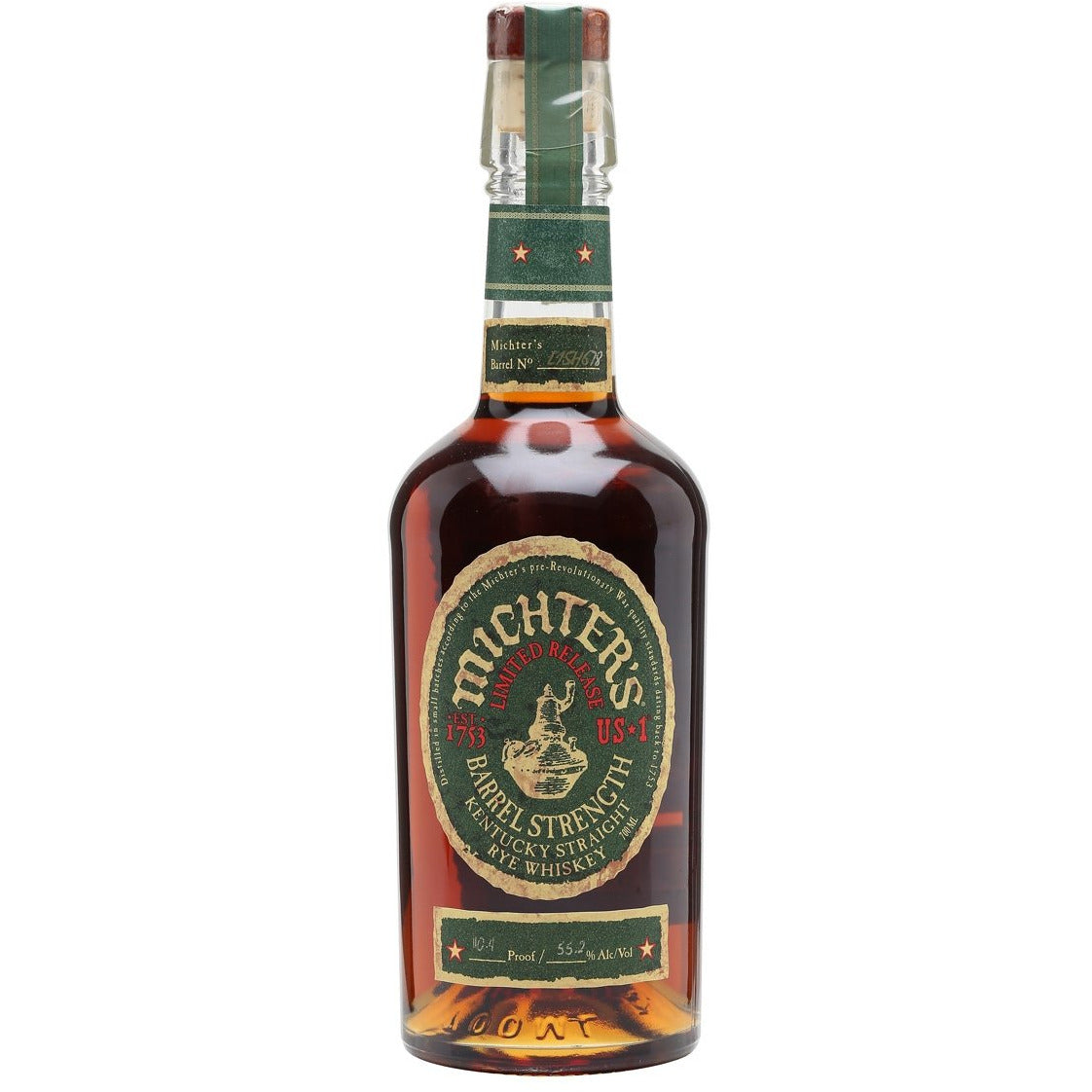 Michters Limited Release Us*1 Barrel Strength Rye (750 ML)
