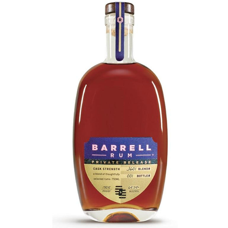 Barrell Rum Private Release 750 mL Limit 1