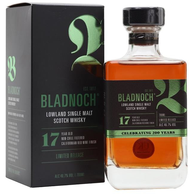 Bladnoch 17 Lowland Single Malt Scotch Whisky 750 mL