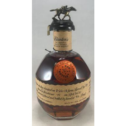 Blantons KnB Barrel Pick 750 ML