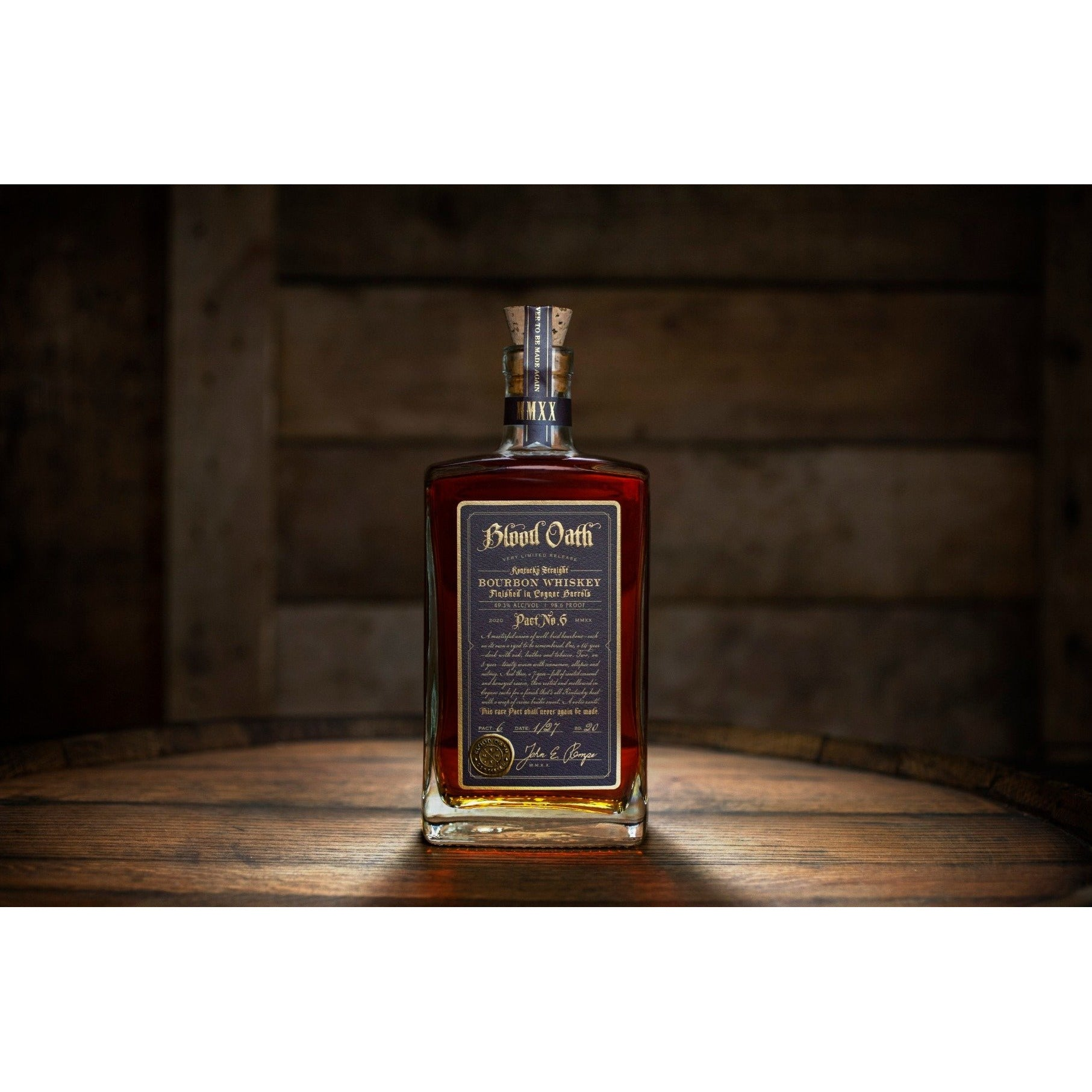 Blood Oath Pact No.6 2020 Kentucky Straight Bourbon Whiskey (750mL)