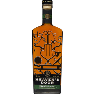 Bob Dylan's Heaven's Door Straight Rye Whiskey Vosges Oak Barrel Finish