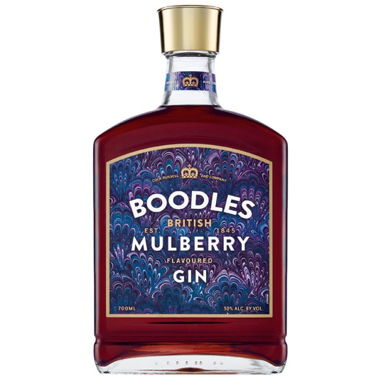 Boodles Mulberry Gin 750 Ml