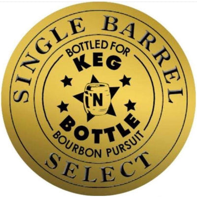 Four Roses Barrel Pick - Bourbon Pursuit and Keg N Bottle 750 ML