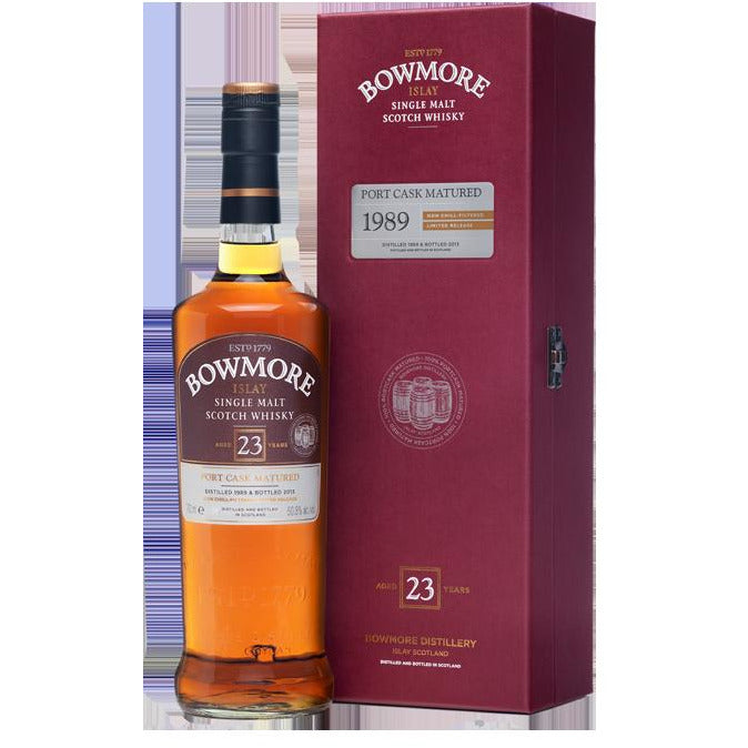 Bowmore 23 Year Port Cask Matured Whiskey