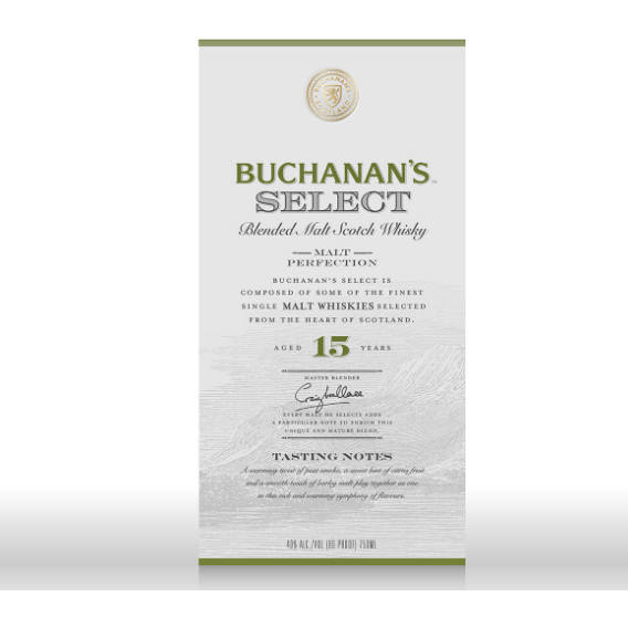 Buchanan's Select 15 Year 750 ML