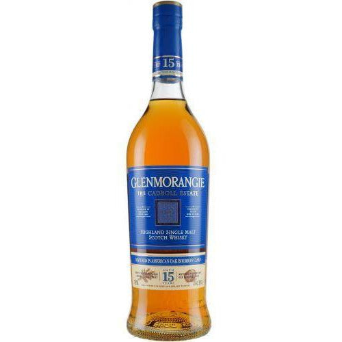 Glenmorangie The Cadboll Estate 15 Year American Oak Bourbon Cask Single Malt Whisky 750 mL