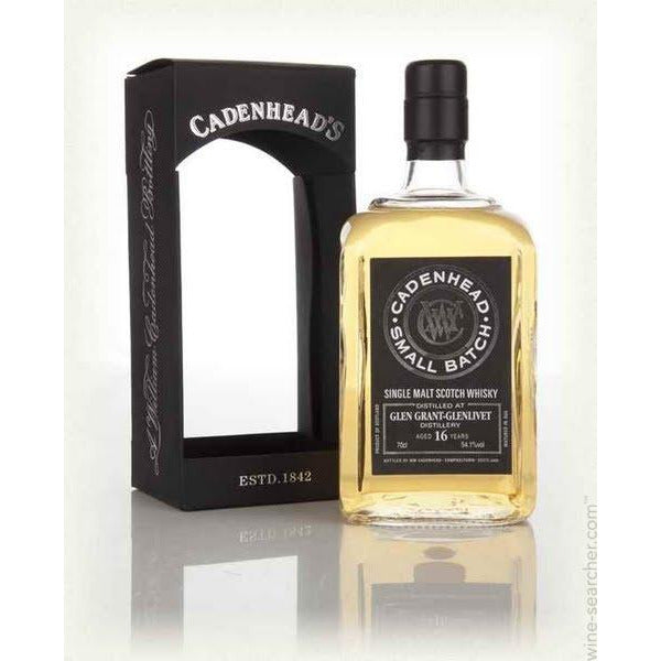 Cadenhead Small Batch Glen Grant-Glenlivet 16 Year Old Scotch Whisky