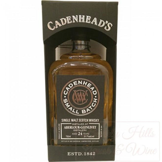 Cadenhead Aberlour 24 Years 750ML