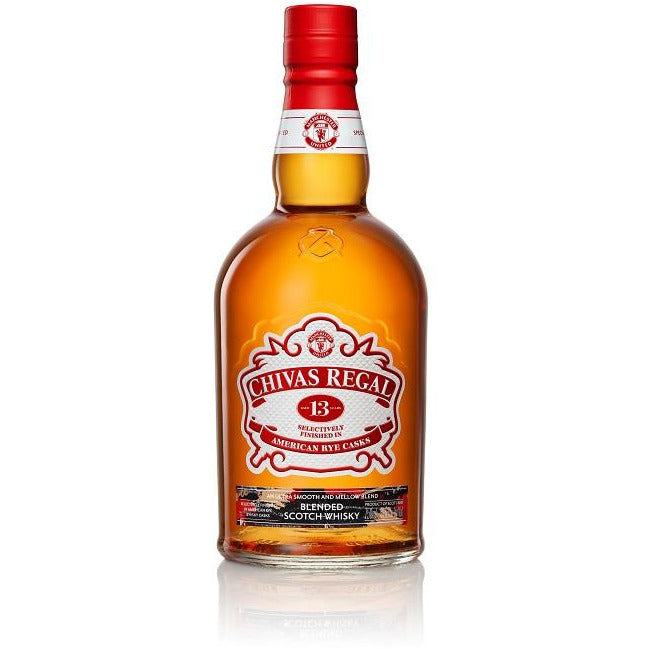 Chivas Regal 13 Year Rye Cask Manchester United Edition 750 mL