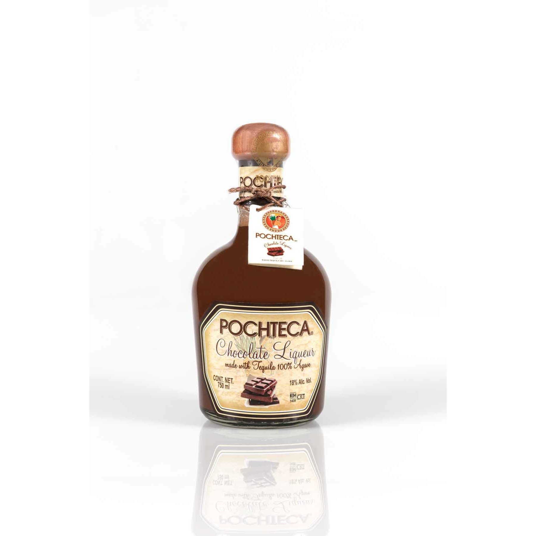 Pochteca Pomegranate Liqueur with Tequila (375 ML)