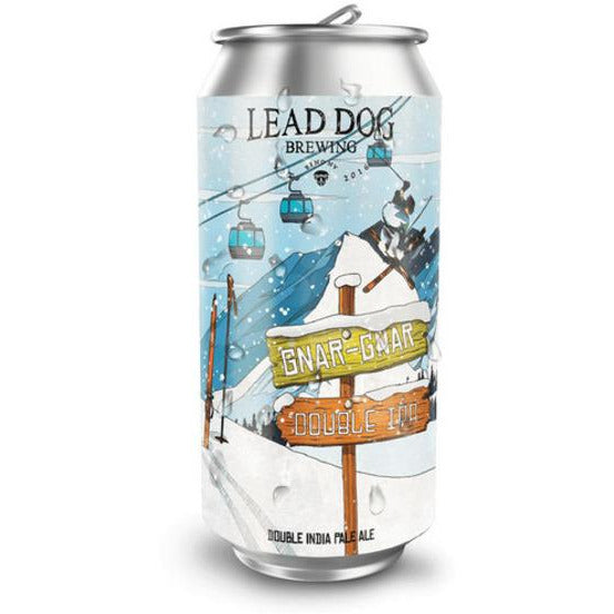 Lead Dog Brewing Gnar Gnar Double IPA