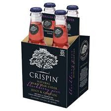 Crispin Blackberry Pear Hard Cider 4 Pack Bottles