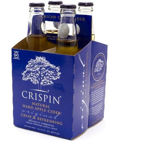 Crispin Original Hard Cider 4 Pack Bottles