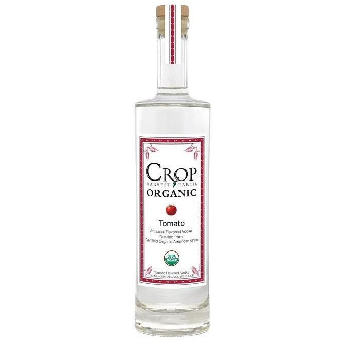 Crop Harvest Earth Tomato Organic Artisanal Flavored Vodka (750 ML)
