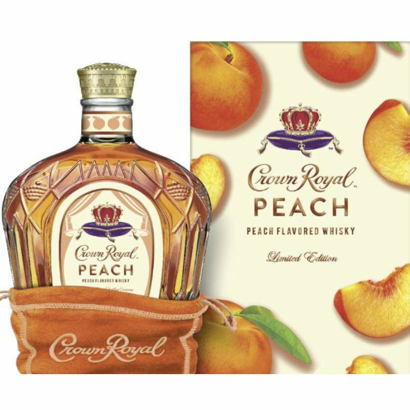 Crown Royal Peach Flavored Whisky 750ml