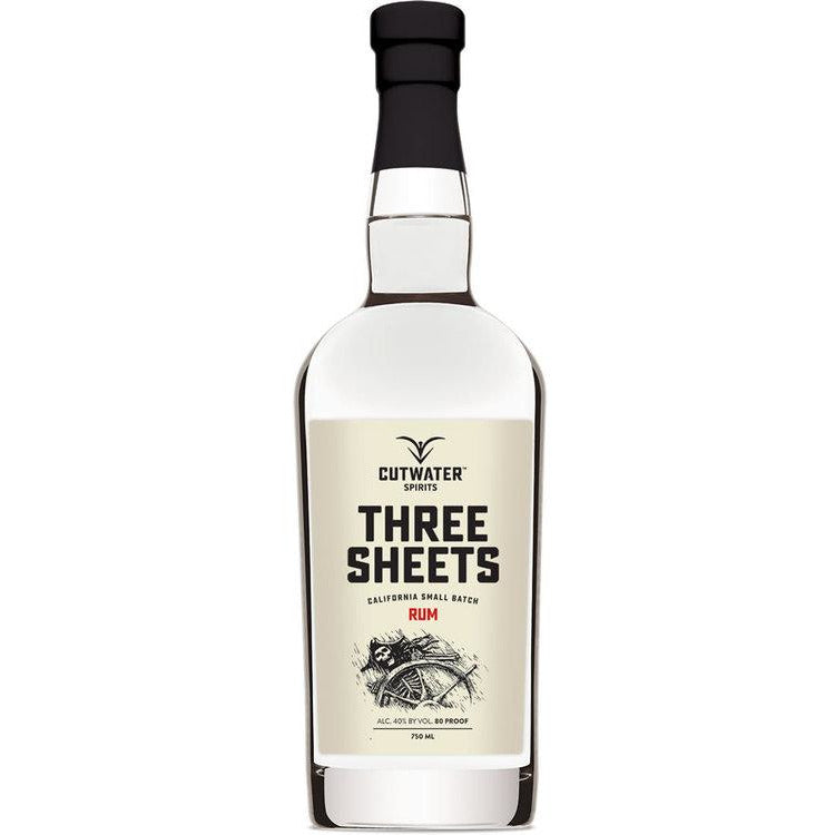 Cutwater Three Sheets Rum 750 ML