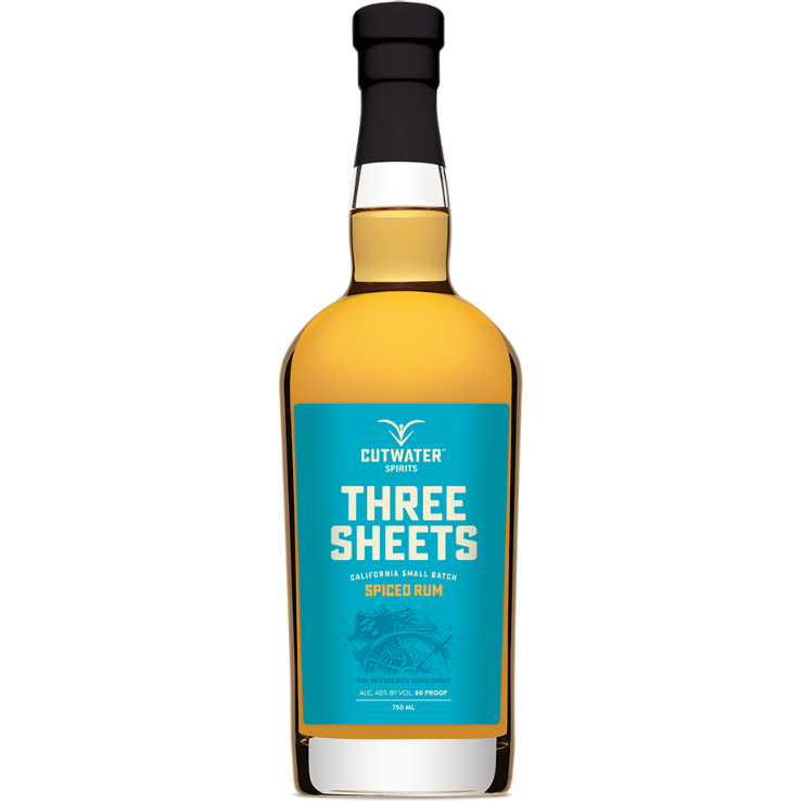 Cutwater Three Sheets Spiced Rum 750 ML