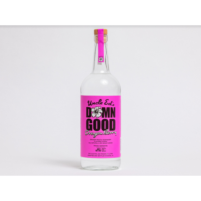 Uncle Ed's Damn Good Vodka Dragon Berry 1 Liter