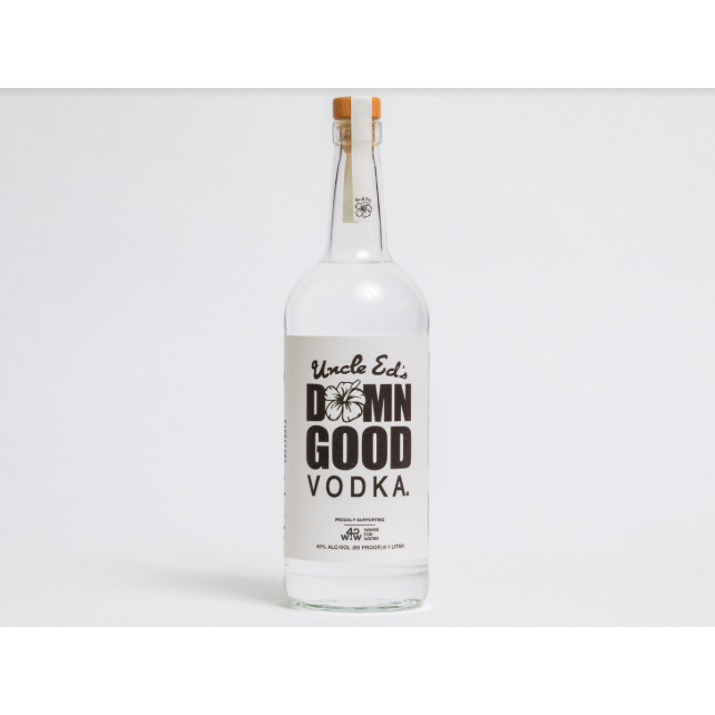 Uncle Ed's Damn Good Vodka Straight Vodka 1 Liter