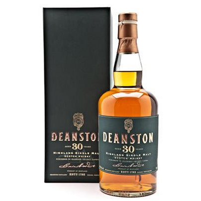 Deanston 30 Years Highland Single Malt Scotch Whiskey 750 Ml