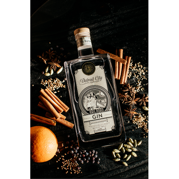 Detroit City Distillery - Peacemaker Gin 750 mL